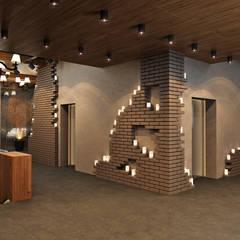 Projekty,  Hotele zaprojektowane przez Rash_studio
