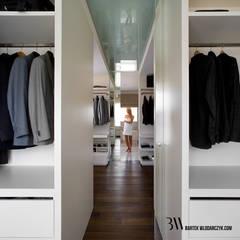 Garderoba: styl , w kategorii Garderoba zaprojektowany przez Bartek Włodarczyk Architekt