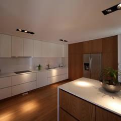 minimalistic Kitchen by 3H _ Hugo Igrejas Arquitectos, Lda