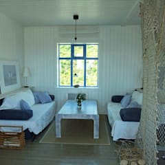 Ferienhaus in Island:  Wohnzimmer von Büro für Solar-Architektur