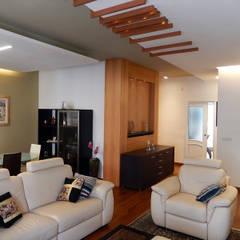 Casa AS: Soggiorno in stile in stile Moderno di Nicola Sacco Architetto