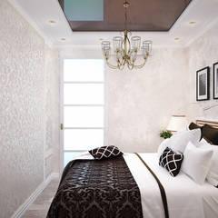 Французский стиль для современной спальни: Спальни в . Автор – Студия дизайна Interior Design IDEAS, Модерн