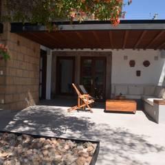 Terrasse de style  par Villanueva Fernandez Arquitectos