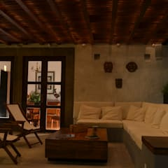 Terrace by Villanueva Fernandez Arquitectos, Colonial Wood Wood effect