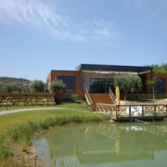 Casas Modulares Amoviveis: Casas  por KITUR,Campestre