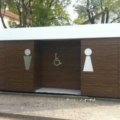 KITUR WC: Casas de banho  por KITUR
