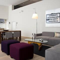 Sala: Salas de estilo  por Basch Arquitectos