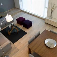 Loft2: Salas de estilo  por Basch Arquitectos