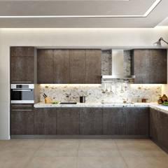 Кухня СВЕТЛАНА АГАПОВА ДИЗАЙН ИНТЕРЬЕРА Кухня в стиле минимализм