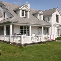 OPEN HOUSE front :  Häuser von THE WHITE HOUSE american dream homes gmbh