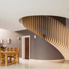 Princes Way:  Corridor & hallway by Frost Architects Ltd