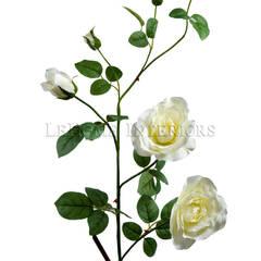 Цветок Шиповник V156: Гостиная в . Автор – LeHome Interiors