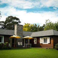 منازل تنفيذ Chauvín Arquitectura  , بلدي خشب Wood effect