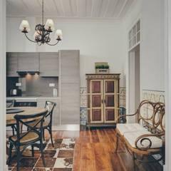 T3+1 na baixa Cozinhas rústicas por Obrasdecor Rústico