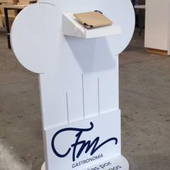 FM Gastronomía: Restaurantes de estilo  por Xarzamora Diseño