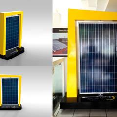 Mansur Solar: Espacios comerciales de estilo  por Xarzamora Diseño