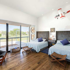 Nursery/kid's room by Imativa Arquitectos