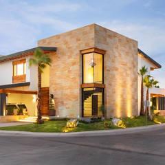 CASA CAR: Casas de estilo  por Imativa Arquitectos, Moderno Piedra