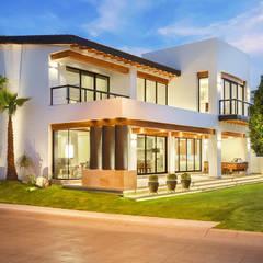 CASA CAR: Casas de estilo  por Imativa Arquitectos