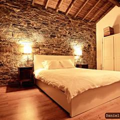 Bedroom by Casa do Páteo, Rustic