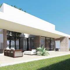 Jardines de estilo  por EMERGENTE | Arquitectura