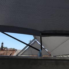 Segeldach:  Terrasse von erdudatz