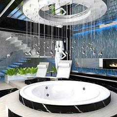 PARTY NOW, SLEEP TOMORROW   Wnętrza SPA: styl , w kategorii Spa zaprojektowany przez ARTDESIGN architektura wnętrz,