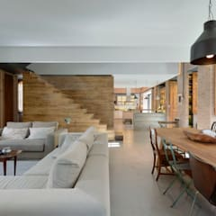 اتاق نشیمن by Ricardo Moreno Arquitectos