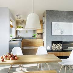 Projekt domu Magnus II G2 : styl , w kategorii Jadalnia zaprojektowany przez Pracownia Projektowa ARCHIPELAG