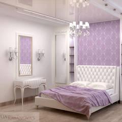 дизайн проект на проспекте Маршала Жукова: Спальни в . Автор – JULIA KABANOVA's DESIGN STUDIO, Классический
