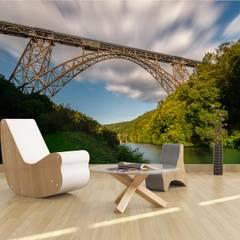 Fototapete Müngstener Brücke:  Multimedia-Raum von Tapetenprinz - Fototapeten und mehr