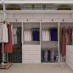 Closets de estilo  por UNUM - ARQUITETURA E ENGENHARIA