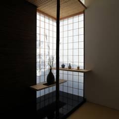 Media room by フィールド建築設計舎