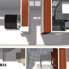 Casa unifamiliar: Dormitorios de estilo  de construcciones y reformas Viguera