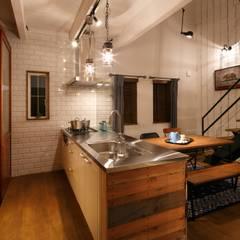 I's HOUSE: dwarfが手掛けたキッチンです。