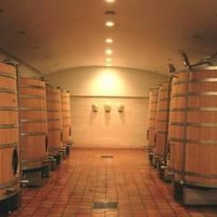 Château à St Emilion !: Cave à vin de style  par SAS ACCTIF DESIGN