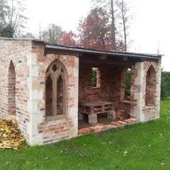 Antike Baustoffe:  Garten von Antik-Stein