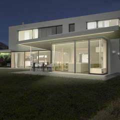 HAUS IN MAIERSDORF:  Häuser von AL ARCHITEKT - Architekten in Wien