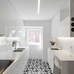 Apartamento São Caetano: Cozinhas  por Vanessa Santos Silva | Arquiteta