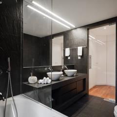 Apartamento São Caetano: Casas de banho  por Vanessa Santos Silva | Arquiteta