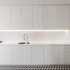 Cozinha na Lapa: Cozinhas  por Vanessa Santos Silva | Arquiteta