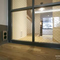 인더스트리얼 느낌의 30평 아파트 인테리어: 홍예디자인의  아이방