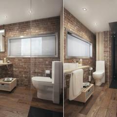 Санузел: Ванные комнаты в . Автор – The Goort