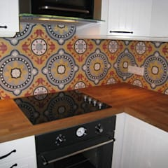 Marokkaanse cementtegel artikel nr 501: mediterrane Keuken door Articima