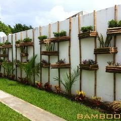 Tuin door Bambootec