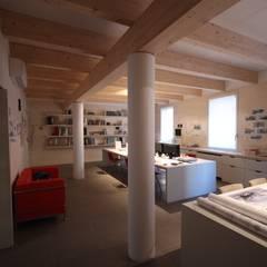 Phòng học/Văn phòng by Paolo Briolini Architettura