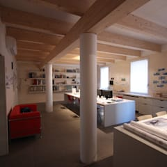 Oficinas de estilo  por Paolo Briolini Architettura