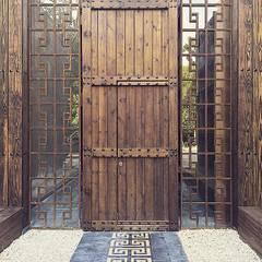 Project in Tulum, Riviera Maya: Casas de estilo  por JCandel, Rústico Madera Acabado en madera