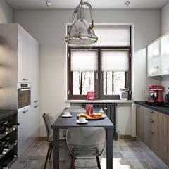 Cocinas de estilo  por Дизайн студия Алёны Чекалиной