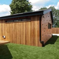 Garden annex:  Garage/shed by Blankstone